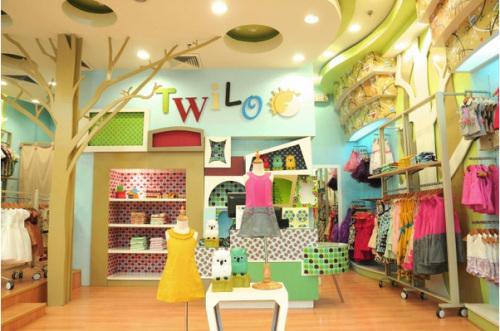 时尚儿童服装店装修效果图欣赏 重庆港宏装饰官网